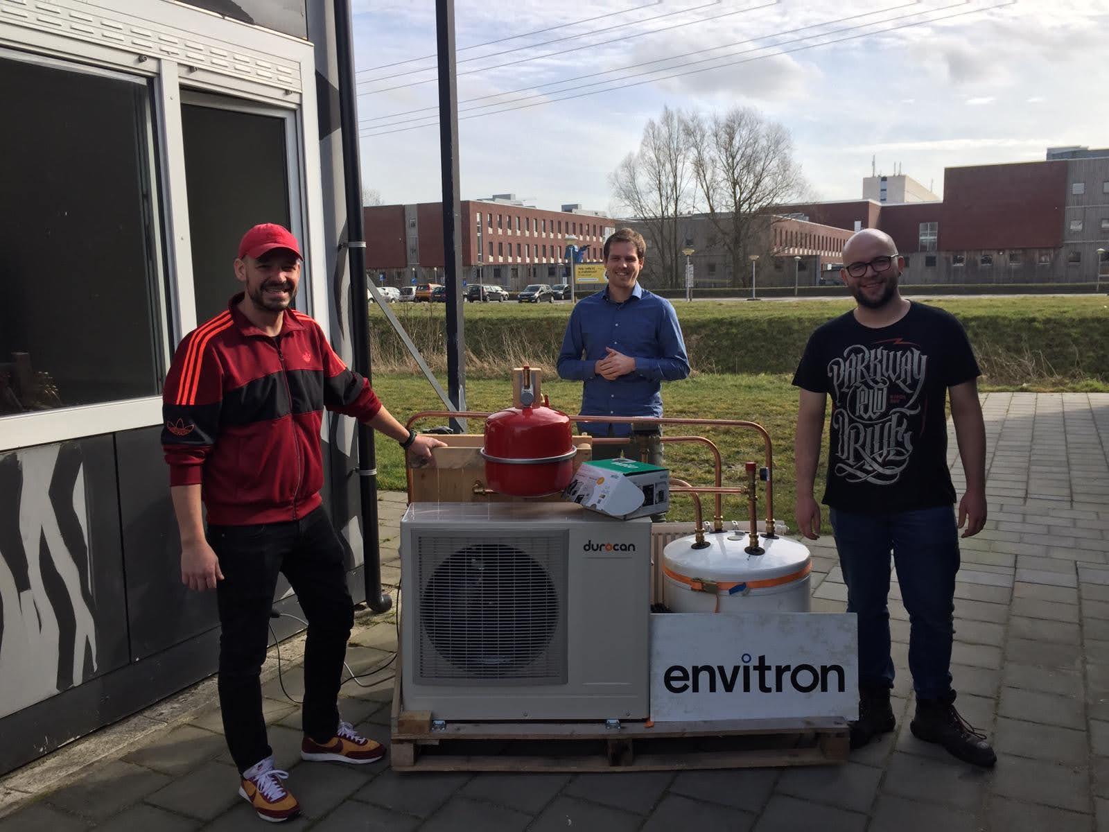 Durocan En Envitron Testen Energiebesparende Regeling Voor Warmtepompen